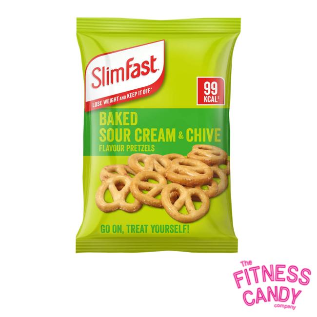 SLIMFAST SLIMFAST SNACK BAG Sour Cream & Chive Pretzel