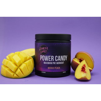 The Fitness Candy Company POWER CANDY MAXIMUM  PRE WORKOUT