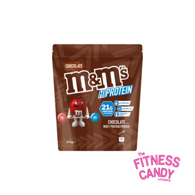 M&M'S HIPROTEIN Chocolate Whey Protein Powder