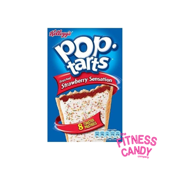 Kellogs POP Tarts Frosted Strawberry