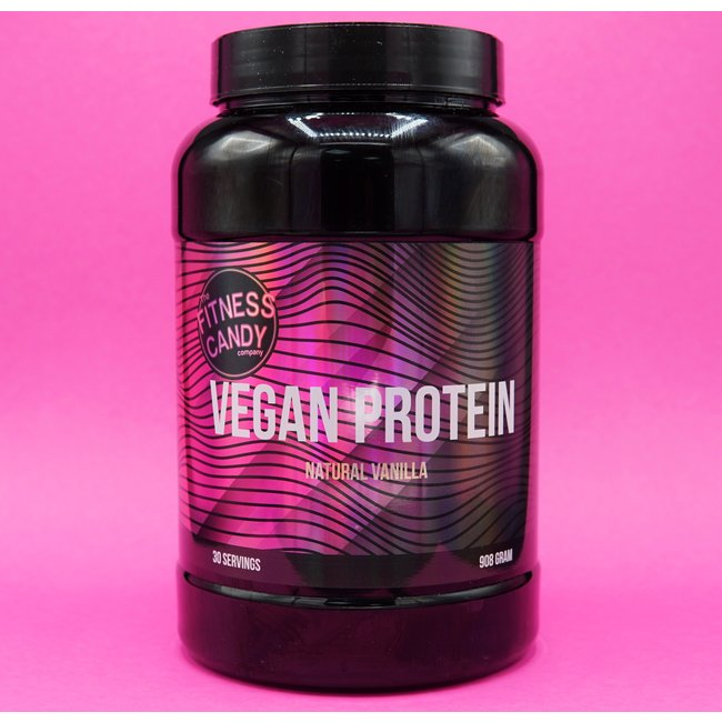 The Fitness Candy Company VEGAN PROTEIN - VANILLE, CHOCOLADE & PISTACHE