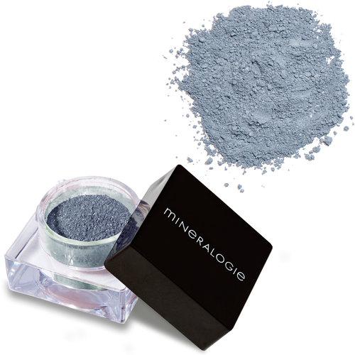 Mineralogie Loose Eye Shadow - Blue Slate Tester