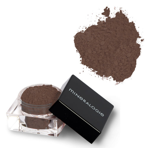 Mineralogie Loose Foundation - Ebony Tester