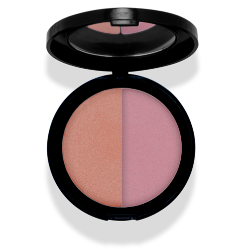 Mineralogie Pressed Blush Duo - Living Coral Tester