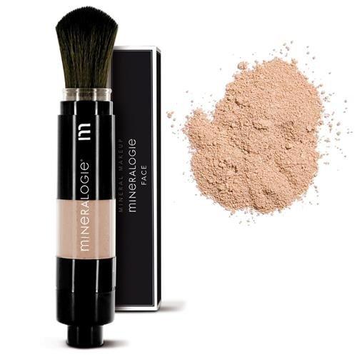 Mineralogie Dispensing Brush Foundation - Brown Sugar Tester