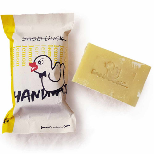 Snob Duck Natural Soap - Lemon - Ginger