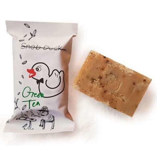Snob Duck Natural Soap - Green Tea - Black Pepper
