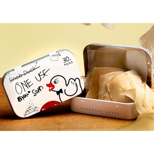 Snob Duck Natural Soap - One Use Tin