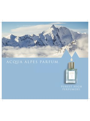 Acqua Alpes Acqua Alpes Display Achterwandje