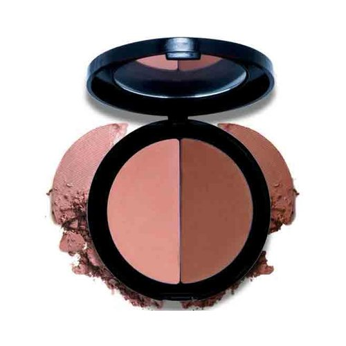 Mineralogie Pressed Blush Duo - Rooftop Rendezvous Pan
