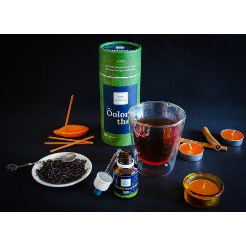 RIES Herbal Tea Geurkaarsenset