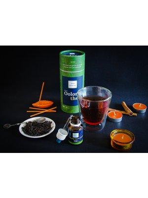 RIES Herbal Tea RIES Oolong Tea + Geurkaarsenset