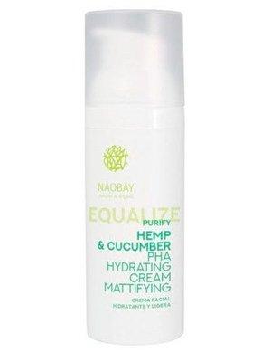 Naobay Purify - Hemp & Cucumber PHA Hydrating Cream Mattifying