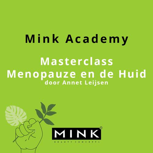 Mink BC Webinar: Masterclass Menopauze en de Huid 13-12-2021