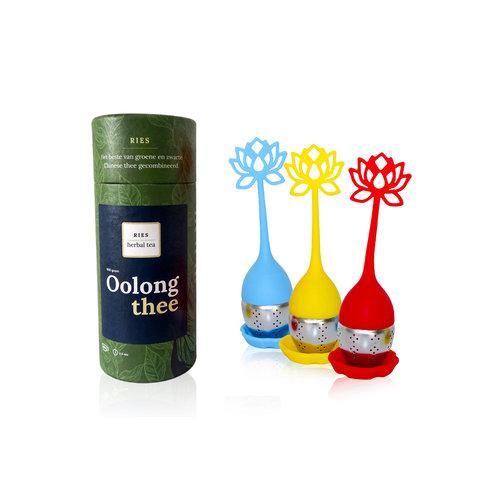 RIES Herbal Tea RIES Herbal Lotusbloem Thee-Ei