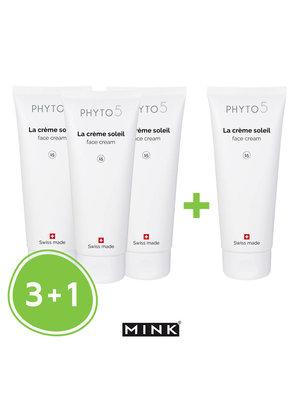 Phyto5 La Crème Soleil 3+1 gratis