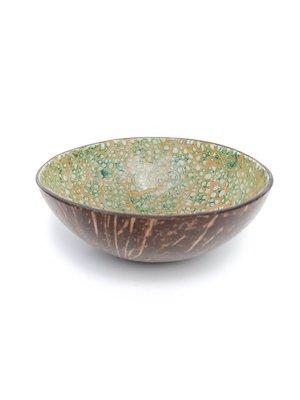 Kokosbakkie Coconut Bowl - Green Poison