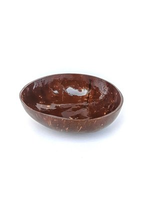 Kokosbakkie Coconut Bowl - Natural Flatty (Coating)