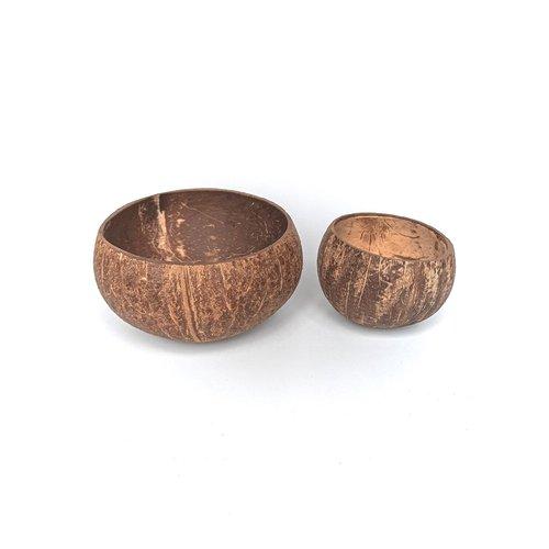 Kokosbakkie Coconut Bowl - Natural Raw (Coating)