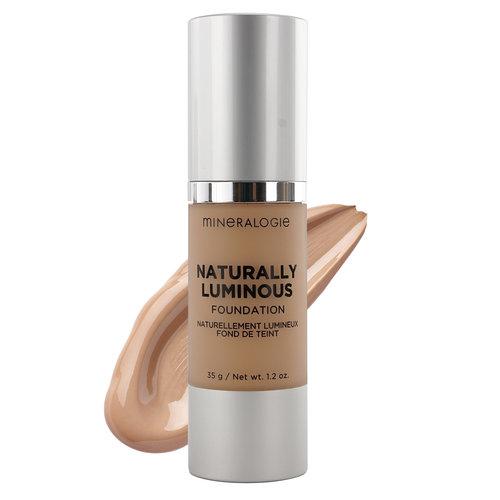 Mineralogie Naturally Luminous Foundation - Soft Beige Tester