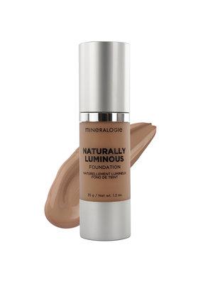 Mineralogie Naturally Luminous Foundation - Brown Sugar Tester