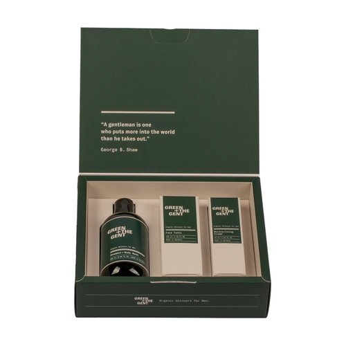 Green + The Gent Everyday Essentials Kit