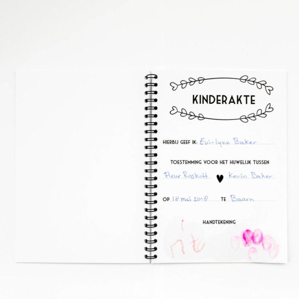 Bonjour to you! Bruiloft boekje voor kids!