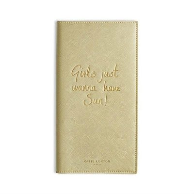 Katie Loxton Reisportefeuille - Girls just wanne have Sun!