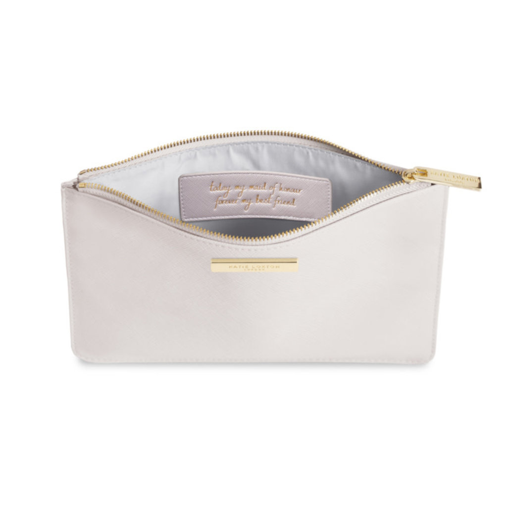 Katie Loxton Perfect Pouch / Secret message - Maid of Honor