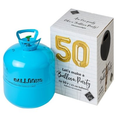 House of Gia Ballonnen - Helium Tank 50