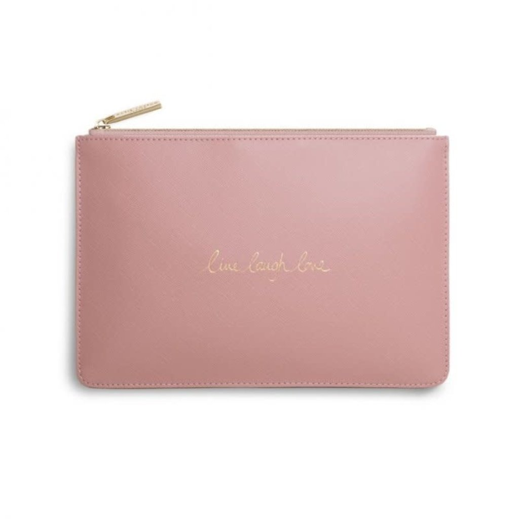 Katie Loxton Perfect Pouch - Live Laugh Love
