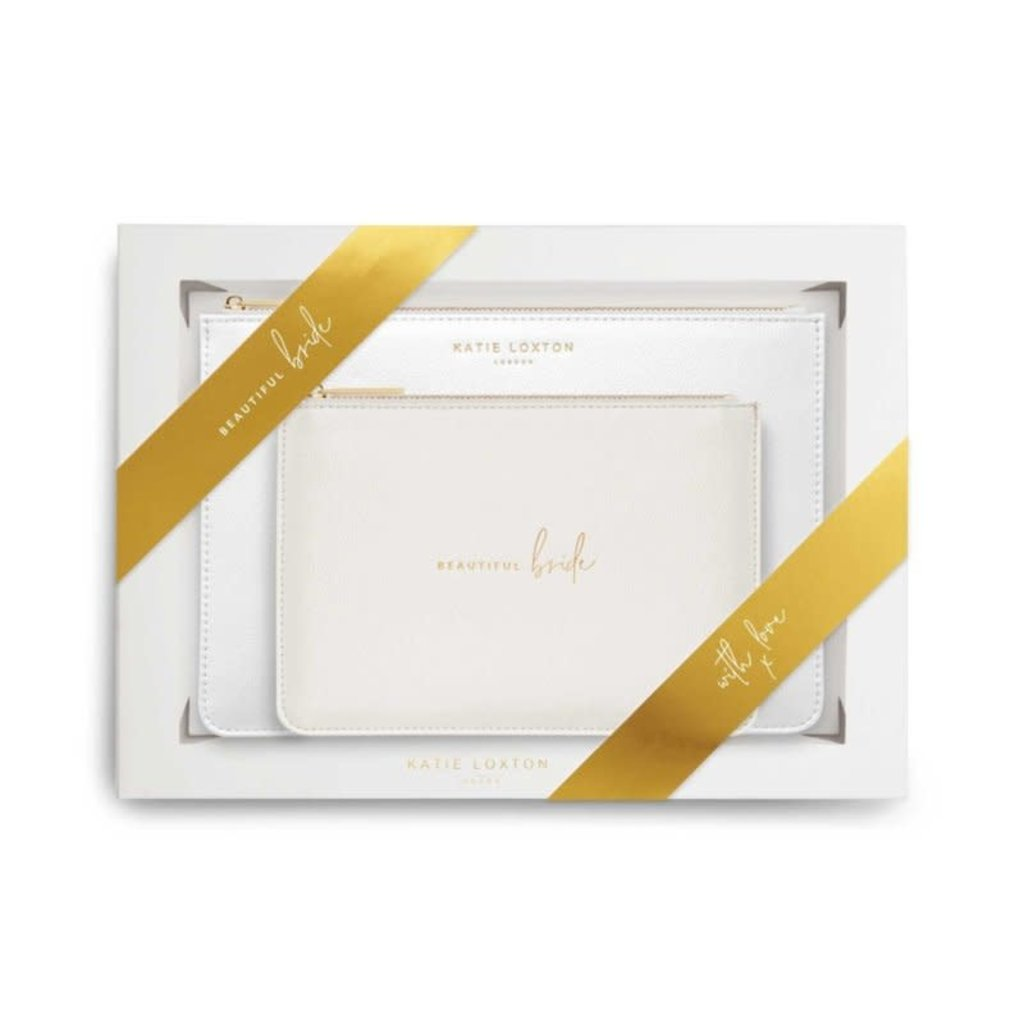Katie Loxton Perfect Pouch Gift Set | Beautiful Bride