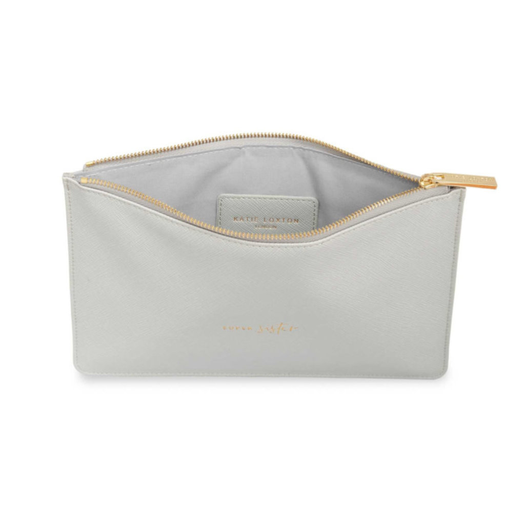 Katie Loxton Perfect Pouch - Super Sister (grey)