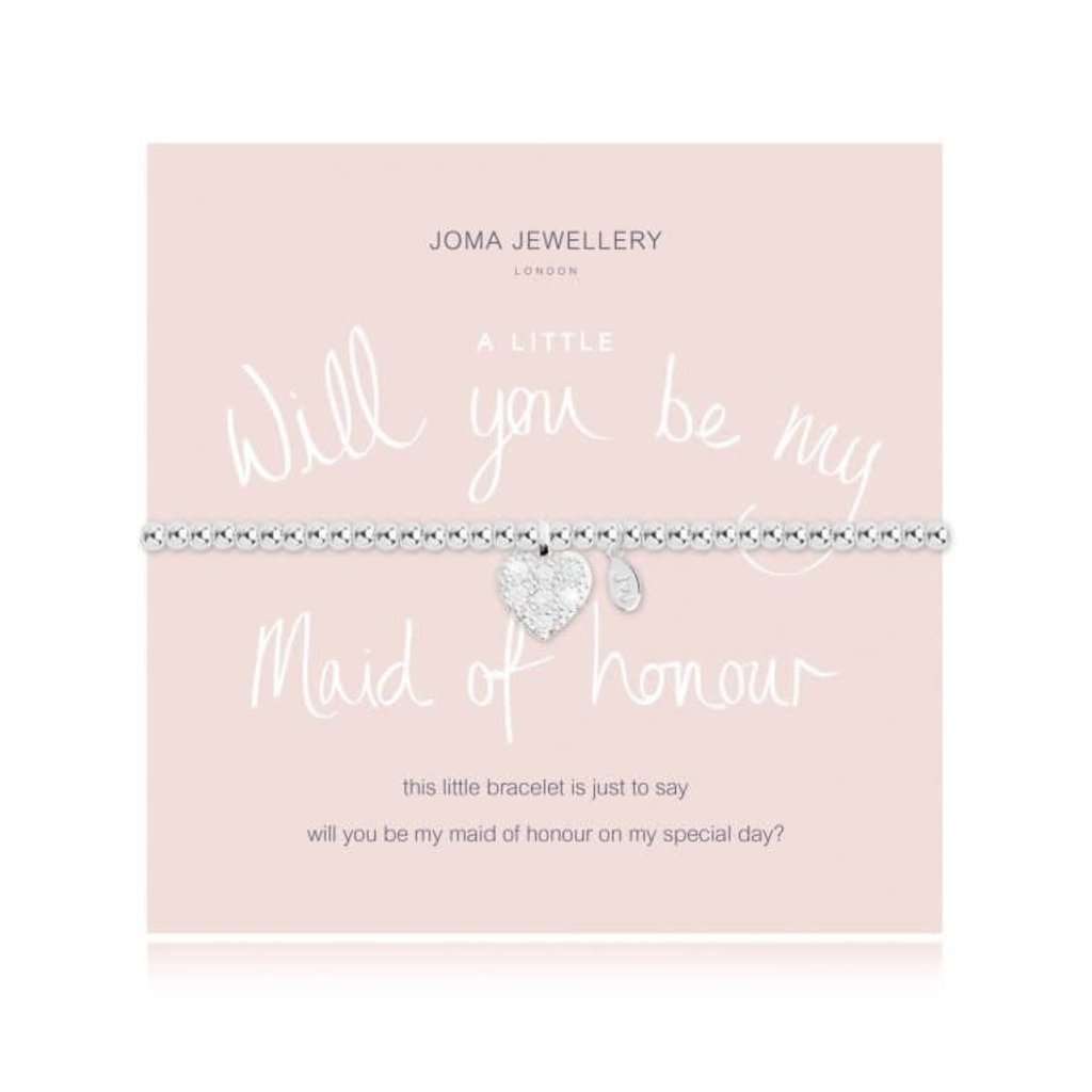 Joma Jewelry A little armband - Will you be my Maid of honor?