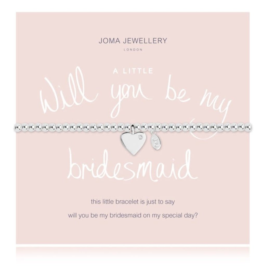 Joma Jewelry A little armband - Will you be my Bridesmaid ?