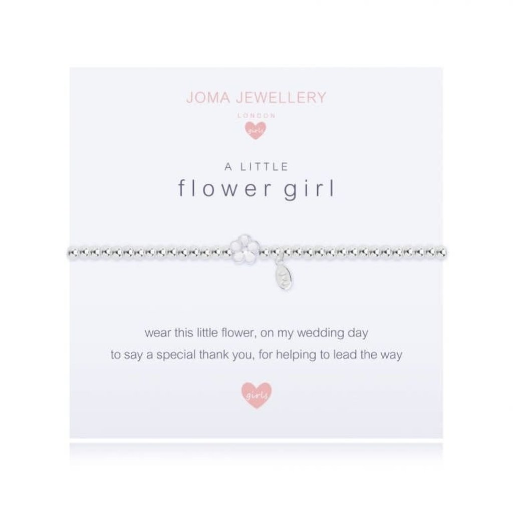 Joma Jewelry A little armband - Flower girl
