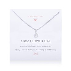 Joma Jewelry A little ketting - Flower girl