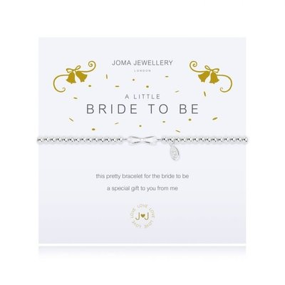 Joma Jewelry A little armband - Bride to be
