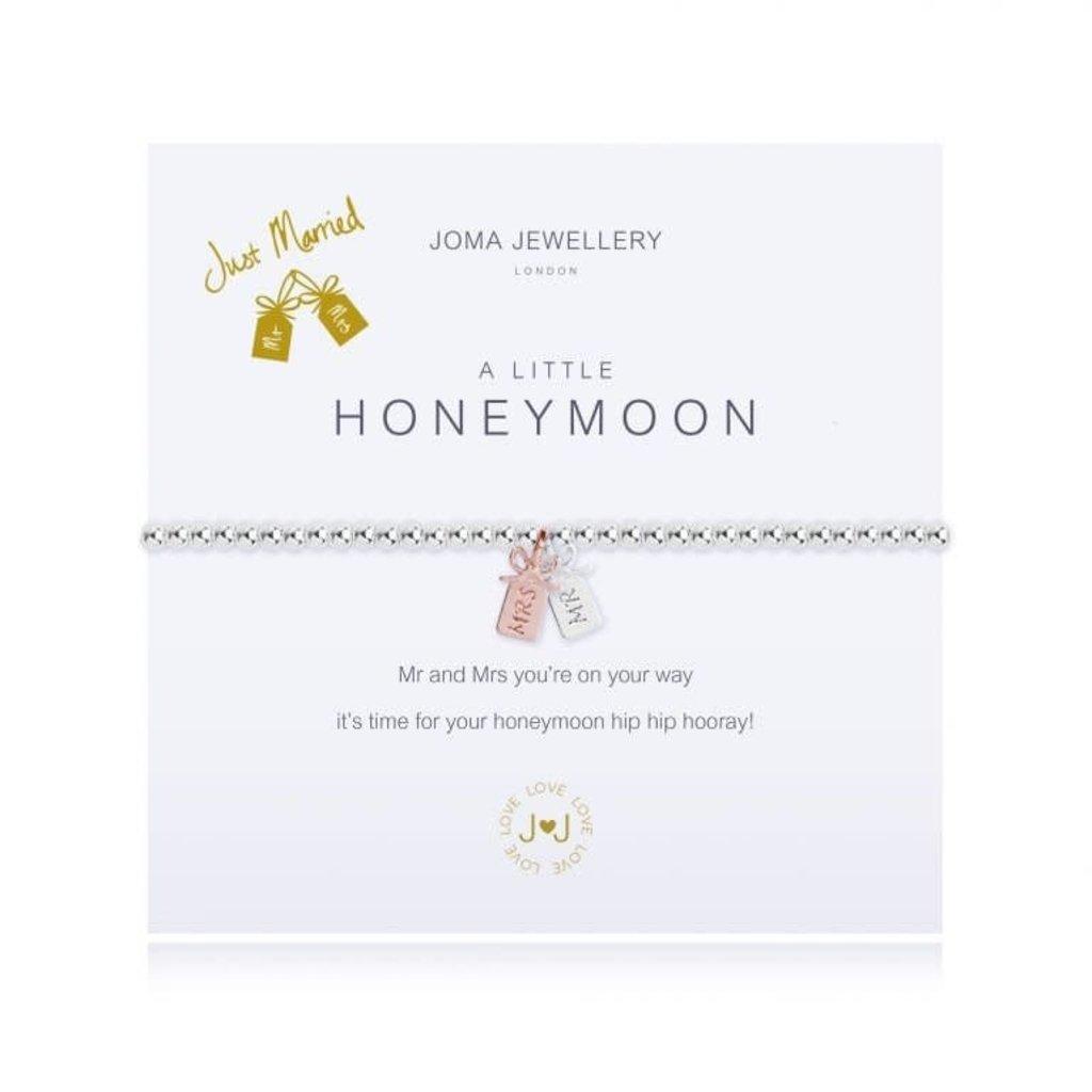Joma Jewelry A little armband - Honeymoon