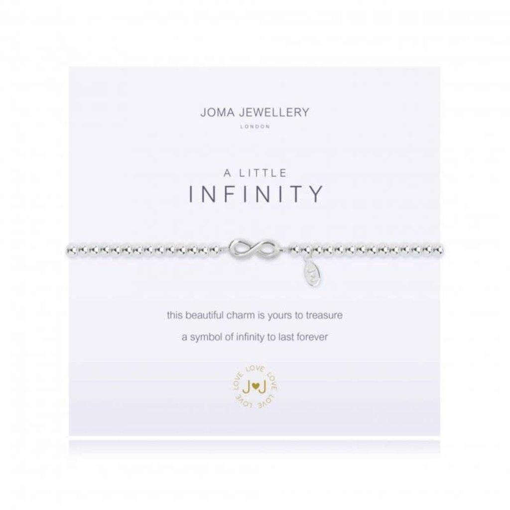 Joma Jewelry A little armband - Infinity