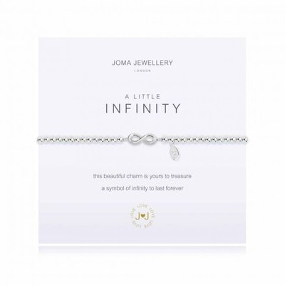 Joma Jewelry A little armband - Infinity
