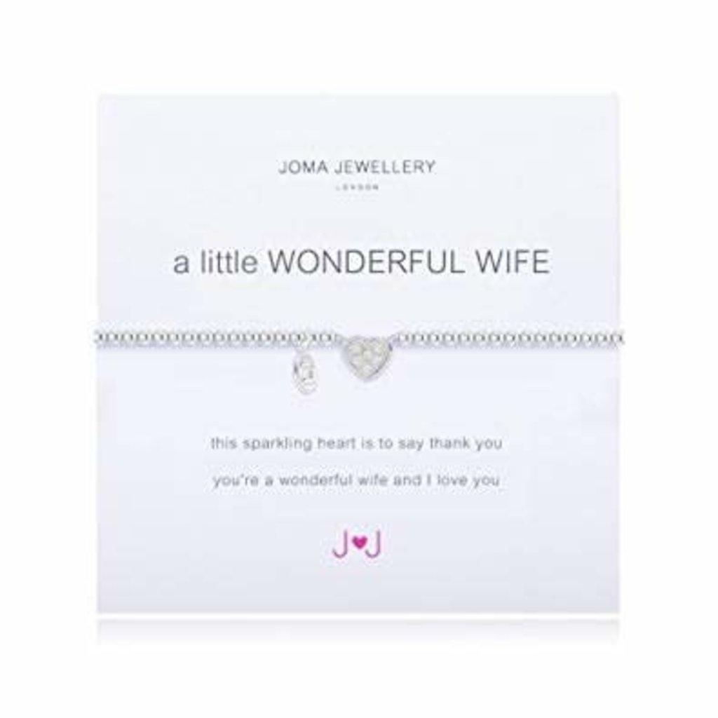 Joma Jewelry A little armband - Wonderful wife