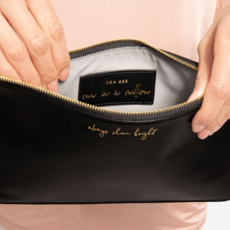 Katie Loxton Secret Message Pouch - Always shine bright/You are One in a Million