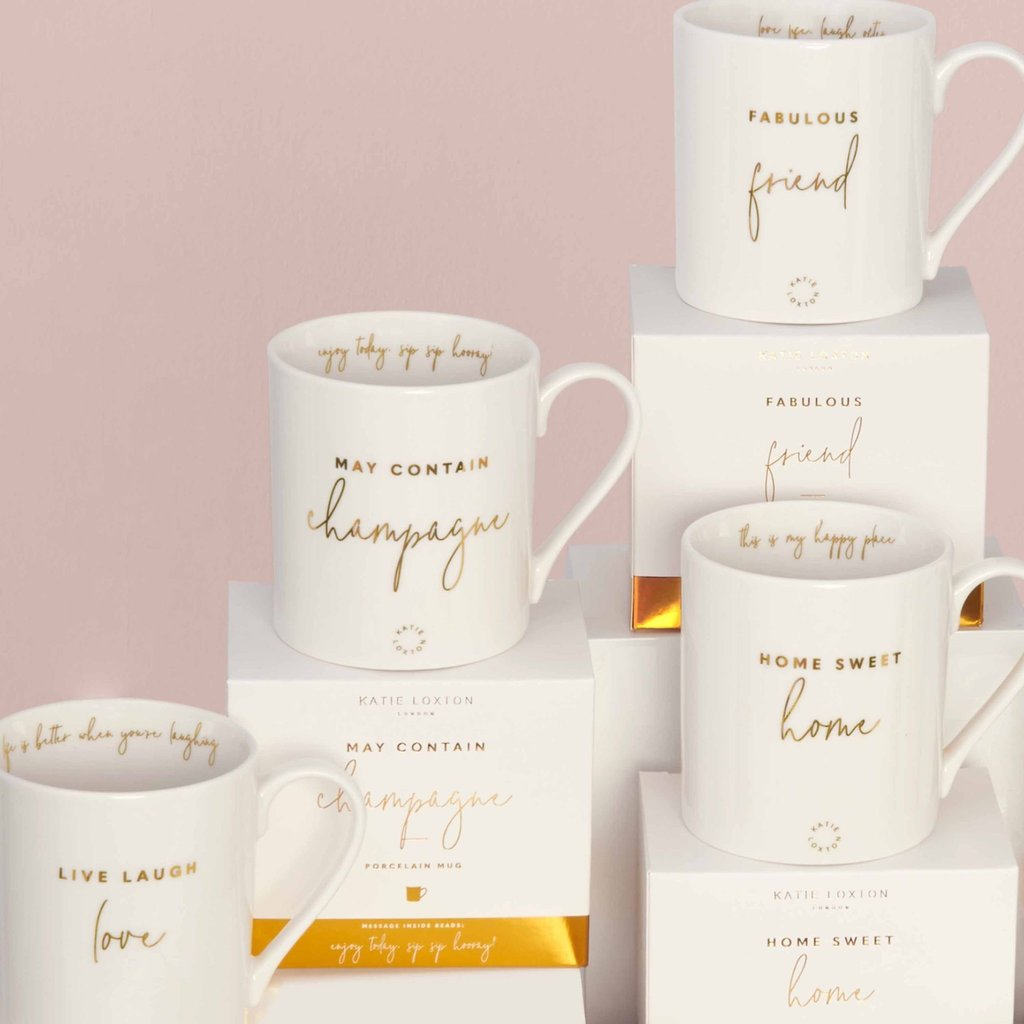 Katie Loxton Gift Boxed Mug - Wonderful Mum