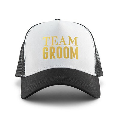 Weddingstar Trucker Pet - Team Groom