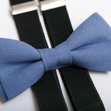 Father & Son Bow-Tie // Marina Blue