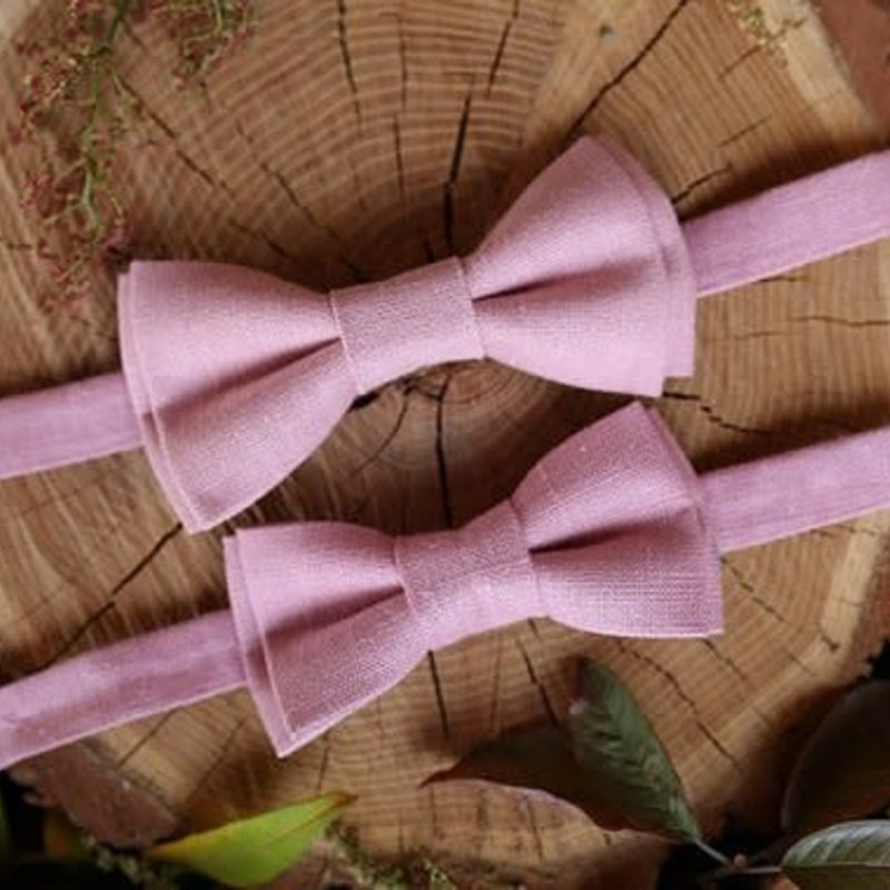 Father & Son Bow-Tie // Pink