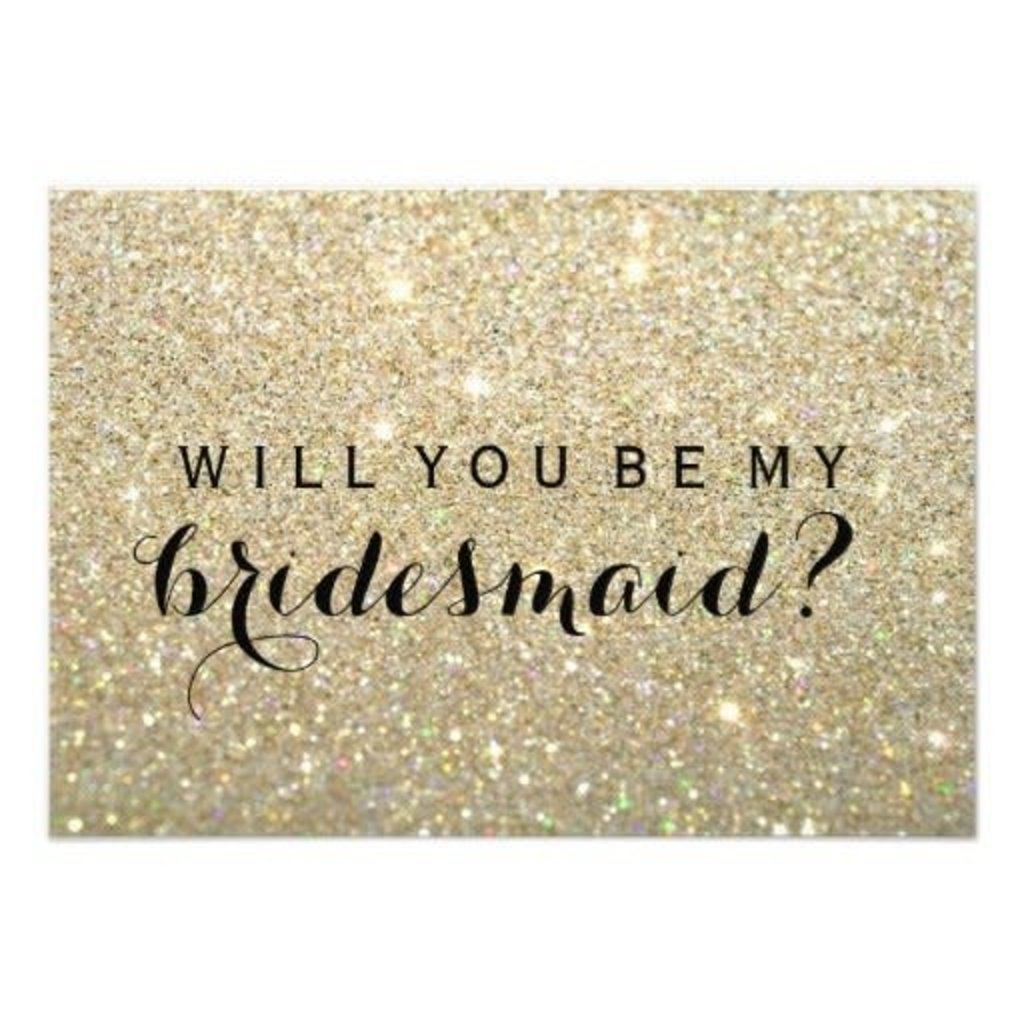Will you be my bridesmaid? - card 2