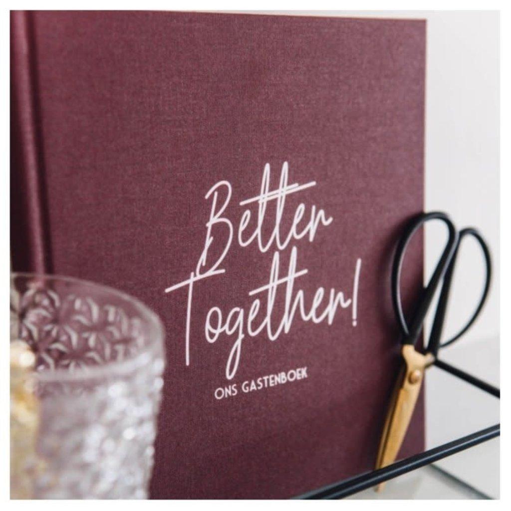 Bonjour to you! Better together! Gastenboek