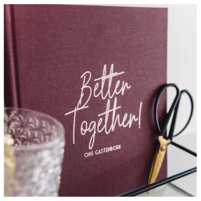 Bonjour to you! Better together! Gastenboek